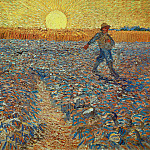 Vincent van Gogh - Sower (after Millet)