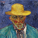 Portrait of Patience Escalier, Shepherd in Provence, Vincent van Gogh