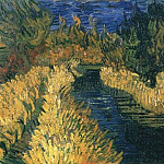 The Little Stream, Vincent van Gogh