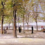 In the Jardin du Luxembourg, Vincent van Gogh