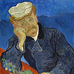 Portrait of Doctor Gachet, Vincent van Gogh