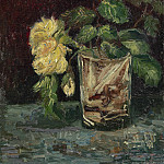Glass with Roses, Vincent van Gogh