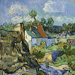 Houses in Auvers, Vincent van Gogh
