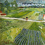 Landscape at Auvers after Rain, Vincent van Gogh