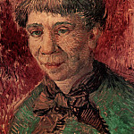 Portrait of a Woman , Vincent van Gogh