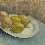 Still Life with lemons on a Plate, Vincent van Gogh
