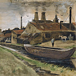 Vincent van Gogh - Iron Mill in The Hague