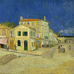Vincents House in Arles , Vincent van Gogh