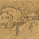 Vincents House in Arles, Vincent van Gogh
