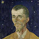 Portrait of Eugene Boch, Vincent van Gogh