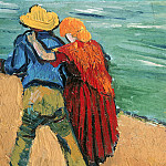 Vincent van Gogh - Two Lovers (Fragment)