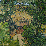 Vincent van Gogh - Entrance to a Quarry