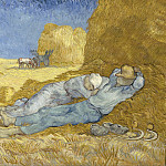 Vincent van Gogh - Noon Rest from (after Millet)
