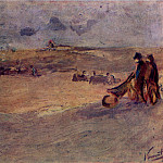 Dunes with Figures, Vincent van Gogh