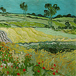 Wheat Fields near Auvers, Vincent van Gogh