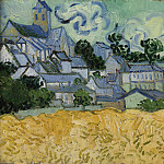 View of Auvers with Church, Vincent van Gogh