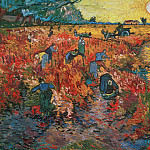 The Red Vineyards in Arles, Vincent van Gogh