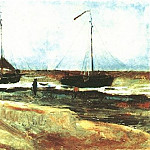 Vincent van Gogh - Beach at Scheveningen in Calm Weather