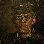 Vincent van Gogh - Head of a Young Peasant in a Peaked Cap