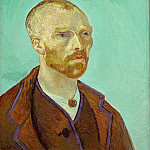 Vincent van Gogh - Self-Portrait Dedicated to Paul Gauguin