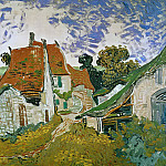 Street in Auvers, Vincent van Gogh