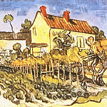The House of Pere Eloi, Vincent van Gogh