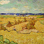 The Haystacks, Vincent van Gogh