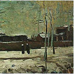 The Old Station at Eindhoven, Vincent van Gogh