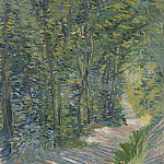 Path in the Woods, Vincent van Gogh