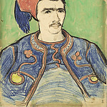 The Zouave, Vincent van Gogh