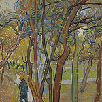 Vincent van Gogh - The Walk (Falling Leaves)