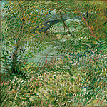 Banks of the Seine with the Pont de Clichy in the Spring, Vincent van Gogh