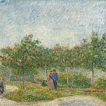 The Voyer dArgenson Park in Asnieres, Vincent van Gogh