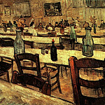 Interior of a Restaurant in Arles, Vincent van Gogh