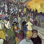 Spectators in the Arena at Arles, Vincent van Gogh