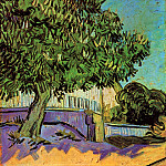 Chestnut Tree in Blossom, Vincent van Gogh