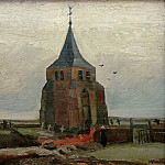 Old Church at Nuenen, Vincent van Gogh