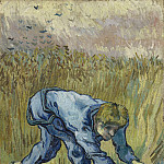 Vincent van Gogh - Reaper with Sickle (after Millet)