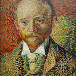 Portrait of the Art Dealer Alexander Reid, Vincent van Gogh