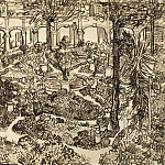 The Garden of the Hospital of Arles, Vincent van Gogh