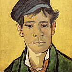 Young Man with a Cap, Vincent van Gogh