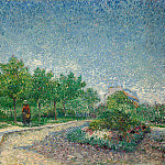 Lane in Voyer d´Argenson Park at Asnieres, Vincent van Gogh