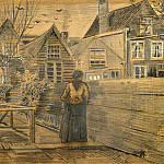 Vincent van Gogh - Mothers House Seen from the Backyard