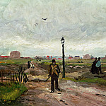 Outskirts of Paris, Vincent van Gogh