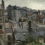 View of Roofs and Backs of Houses, Vincent van Gogh