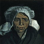 Francois Clouet - Head of a Peasant Woman with White Cap