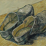 A Pair of Leather Clogs, Vincent van Gogh