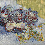 Vincent van Gogh - Still Life with Red Cabbages and Onions