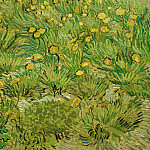 A Field with dandelions, Vincent van Gogh