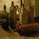 Vincent van Gogh - Still-life with Bottles